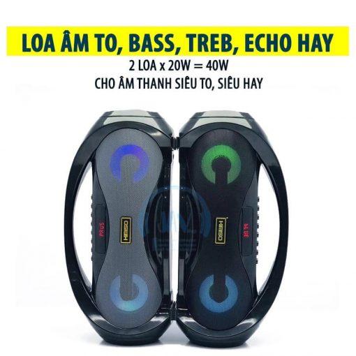 Loa Kẹo Kéo Karaoke Bluetooth Mini KIMISO S2