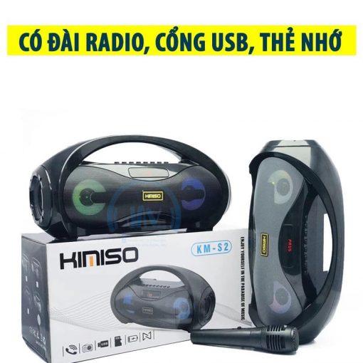 Loa Kẹo Kéo Karaoke Bluetooth Mini KIMISO S23