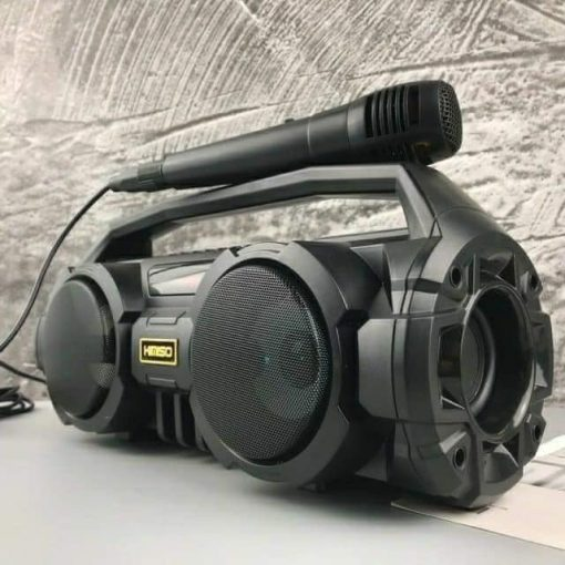 Loa Sách Tay KiMiSo KM S1 Kết Nối Bluetooth Có Đèn Led Kèm Micro Hát Karaoke1