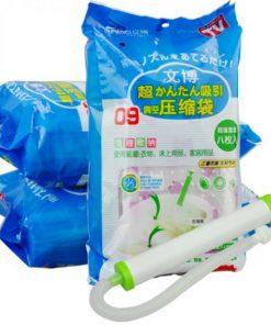 Túi hút chân không LOẠI TỐT bộ 8 túi 1 hút Wenbo7