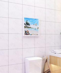Tủ quần áo gấp gọn hình bức tranh dành cho phòng tắm2