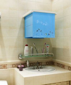 Tủ quần áo gấp gọn hình bức tranh dành cho phòng tắm3